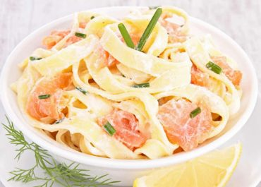 salade tagliatelle saumon